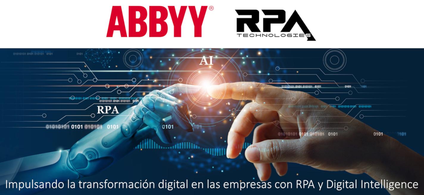 RPA Technologies firma con ABBYY para impulsar la digitalización empresarial